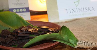 Presentan bondades del chocolate artesanal oscuro en La Casona del Café